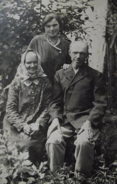 František a Marie Krumlová s dcerou Marií (1933)