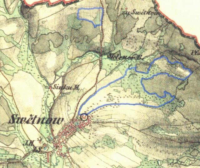 Mapa pozemků